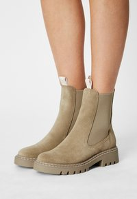 Tamaris - Classic ankle boots - beige - 0
