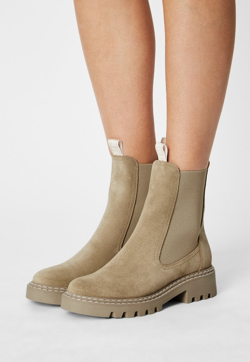 Tamaris - Classic ankle boots - beige