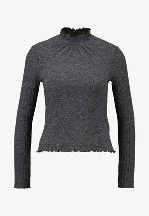 LETTUCE FUNEL - Long sleeved top - grey