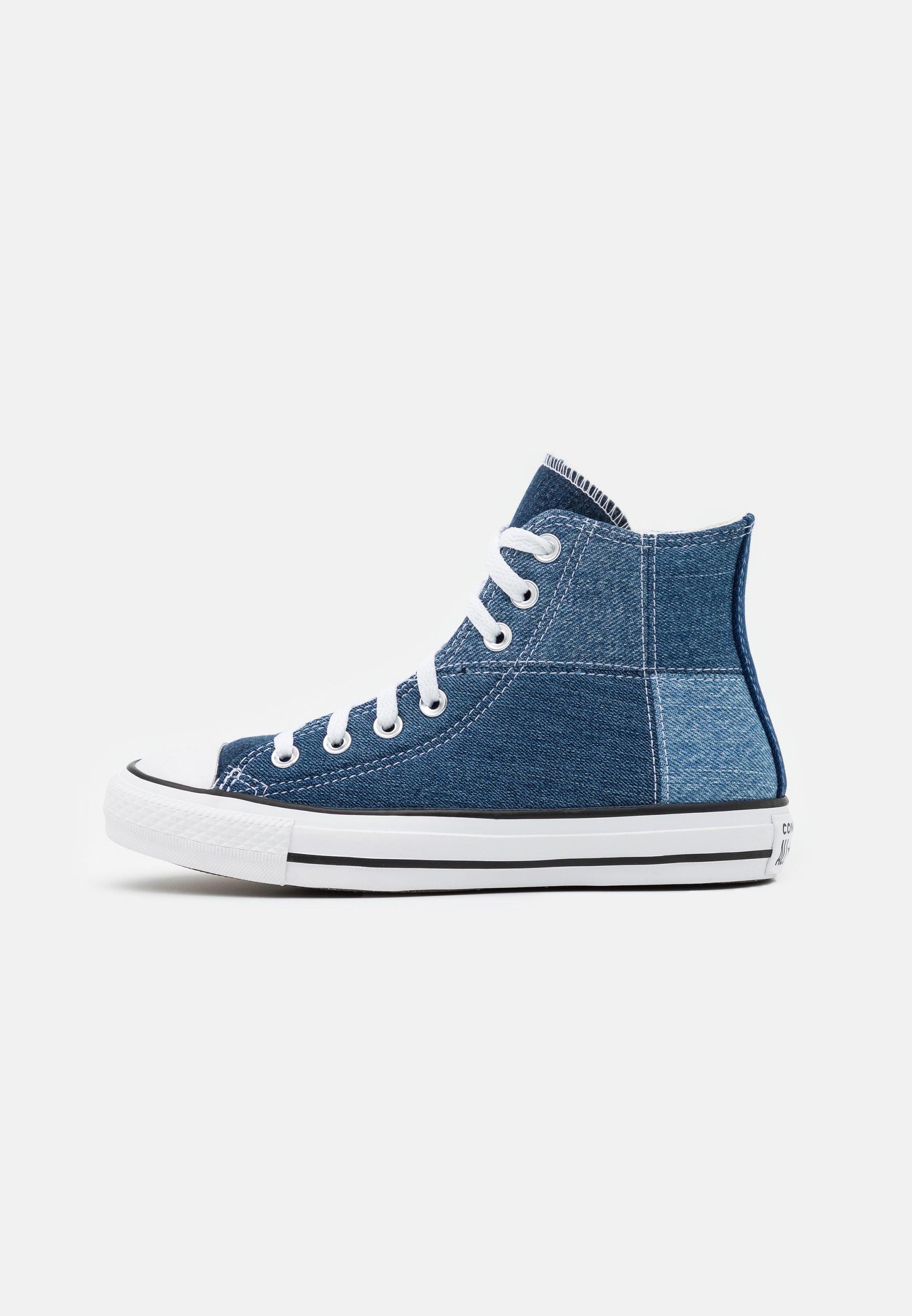 converse bleu clair
