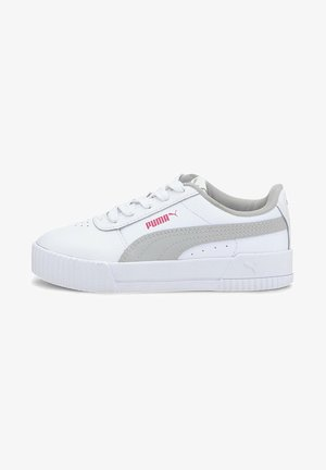Trainers - puma white-gray violet