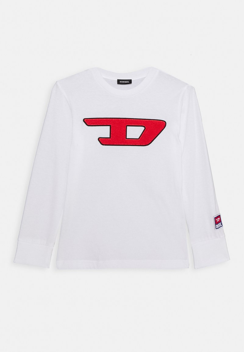 Diesel - TJUSTDIVISION-D ML M - Long sleeved top - bianco