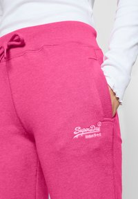 Superdry - Tracksuit bottoms - fluro pink - 4