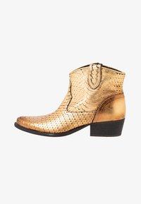 Felmini - TEXANA - Ankle boots - metal gold - 1