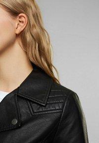edc by Esprit - Faux leather jacket - black - 5