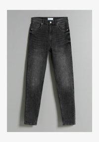 Bershka - Jeans Skinny Fit - dark grey - 4