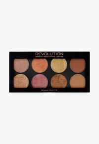 Make up Revolution - GOLDEN SUGAR 2 ROSE GOLD PALETTE - Gezichtspalet - rose gold - 0