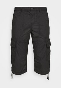 TOM TAILOR - MAX OVERKNEE - Shorts - black bean - 5