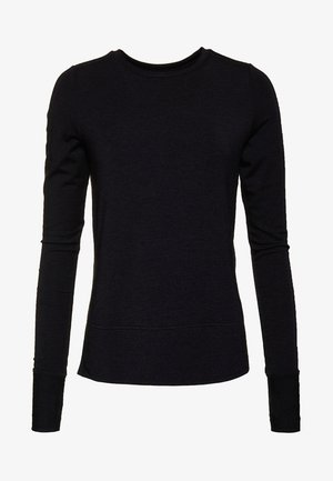 ACTIVE STUDIO LUXE  - Sports shirt - mottled black