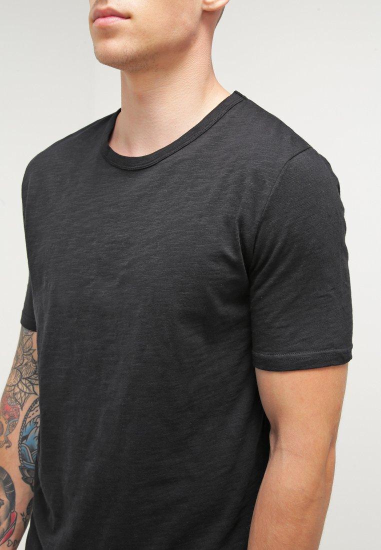 Minimum DELTA  - Basic T-shirt - black tc7UR