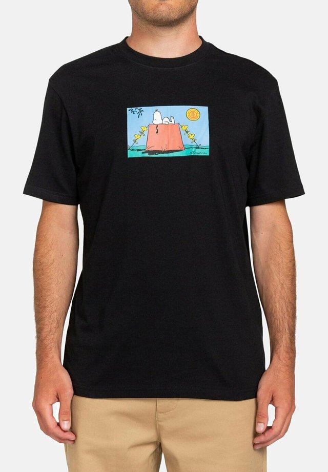 PEANUTS - T-shirts print - flint black