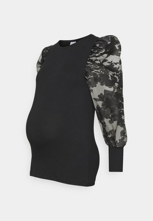 MLABELINE - Long sleeved top - black
