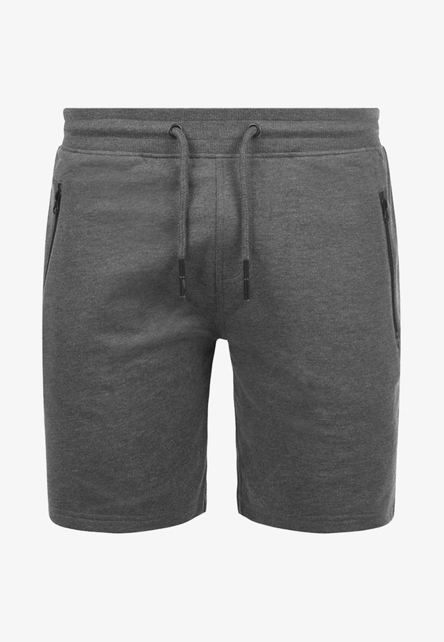 SWEATSHORTS TARAS - Shorts - dark grey melange