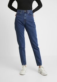 Dr.Denim Tall - NORA MOM - Jeansy Relaxed Fit - mid retro - 0
