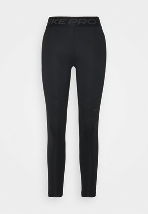 WARM ESSENTIAL - Legginsy - black/smoke grey