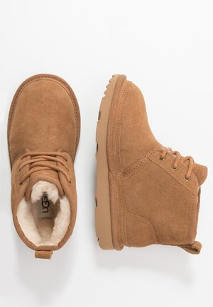 NEUMEL - Lace-up ankle boots - chestnut