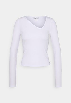 DAISY  - Top sdlouhým rukávem - white light
