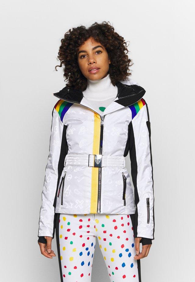 RAINBOW SKI - Ski jacket - white