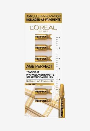 AGE PERFECT SERUM AMPULLES 7 DAYS - Set de soins du visage - -