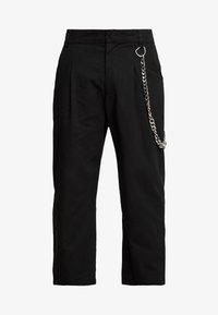 The Ragged Priest - PLEATED TROUSERS WITH KEY CHAIN - Tygbyxor - black - 4