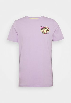 UNISEX CONNER TEE - Print T-shirt - pastel lilac