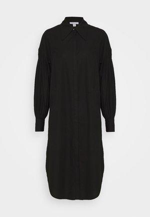 OVERSIZED POP - Shirt dress - black