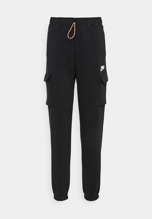 PANT - Trainingsbroek - black/black/white