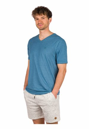 Basic T-shirt - midnight heather