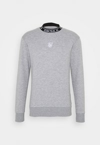 SIKSILK - ESSENTIAL HIGH NECK - Mikina - grey - 3