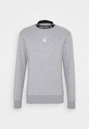 ESSENTIAL HIGH NECK - Mikina - grey