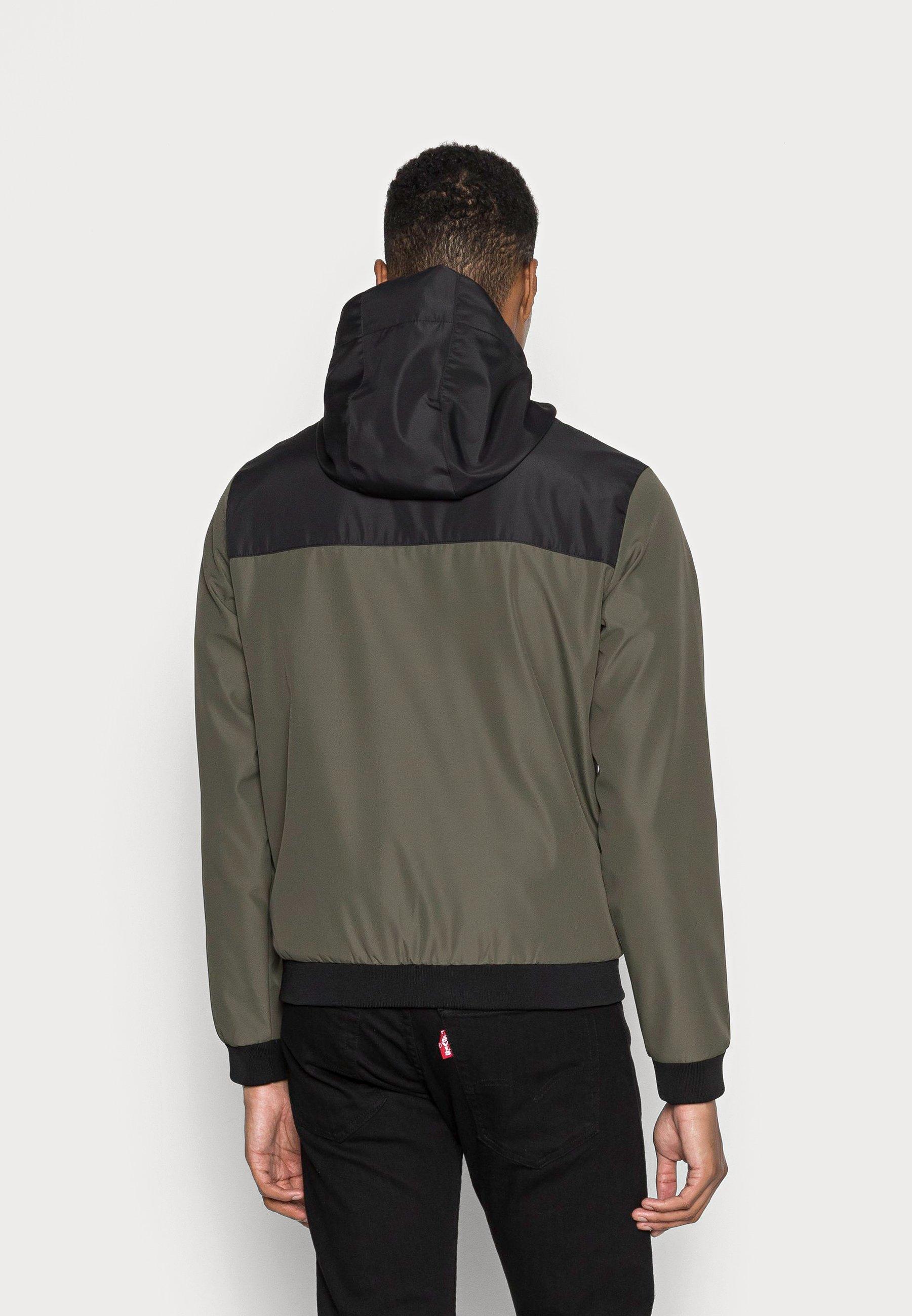 Men JJESEAM JACKET HOOD  - Summer jacket