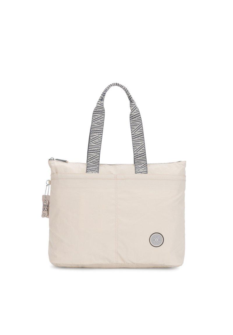 Kipling - CHIKA - Shopping bags - ice ivory