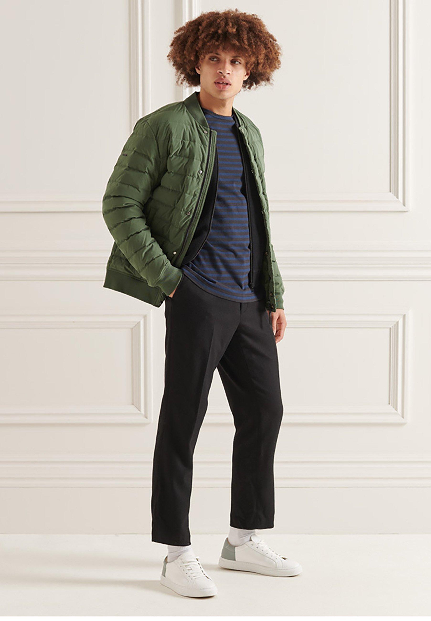 Men HEAVY WEIGHT  - Long sleeved top - black