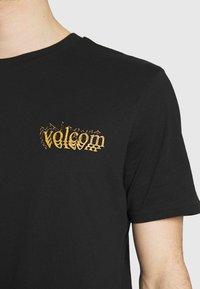 Volcom - BURGOO BSC SS - Print T-shirt - black - 5