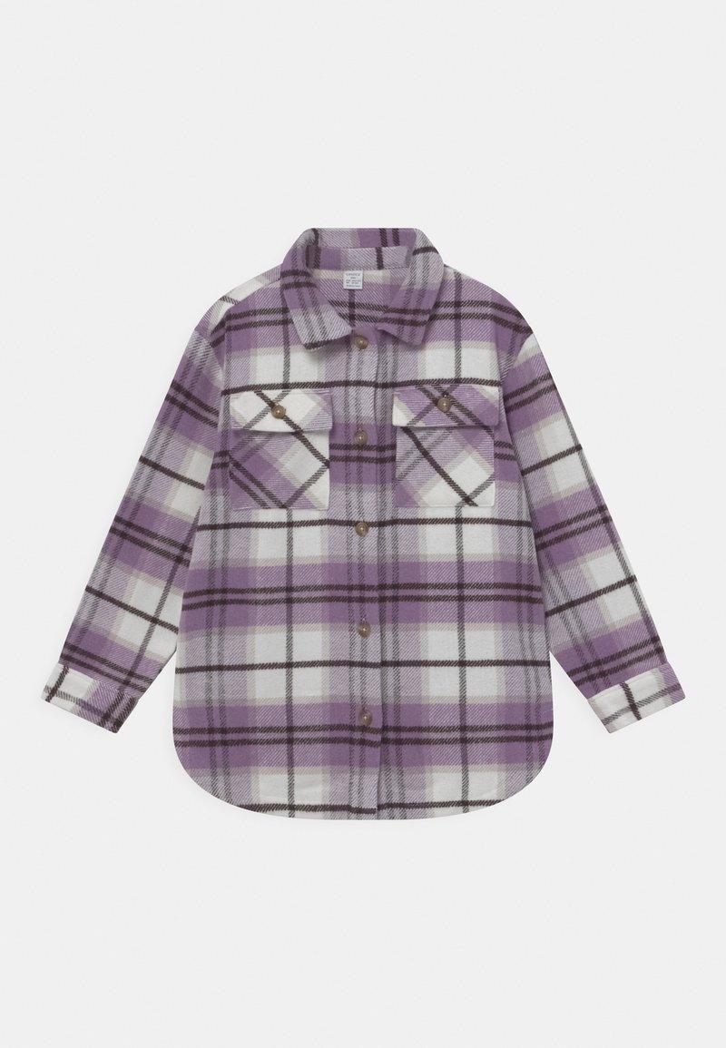 Lindex - OVERSHIRT ASTA  - Button-down blouse - lilac