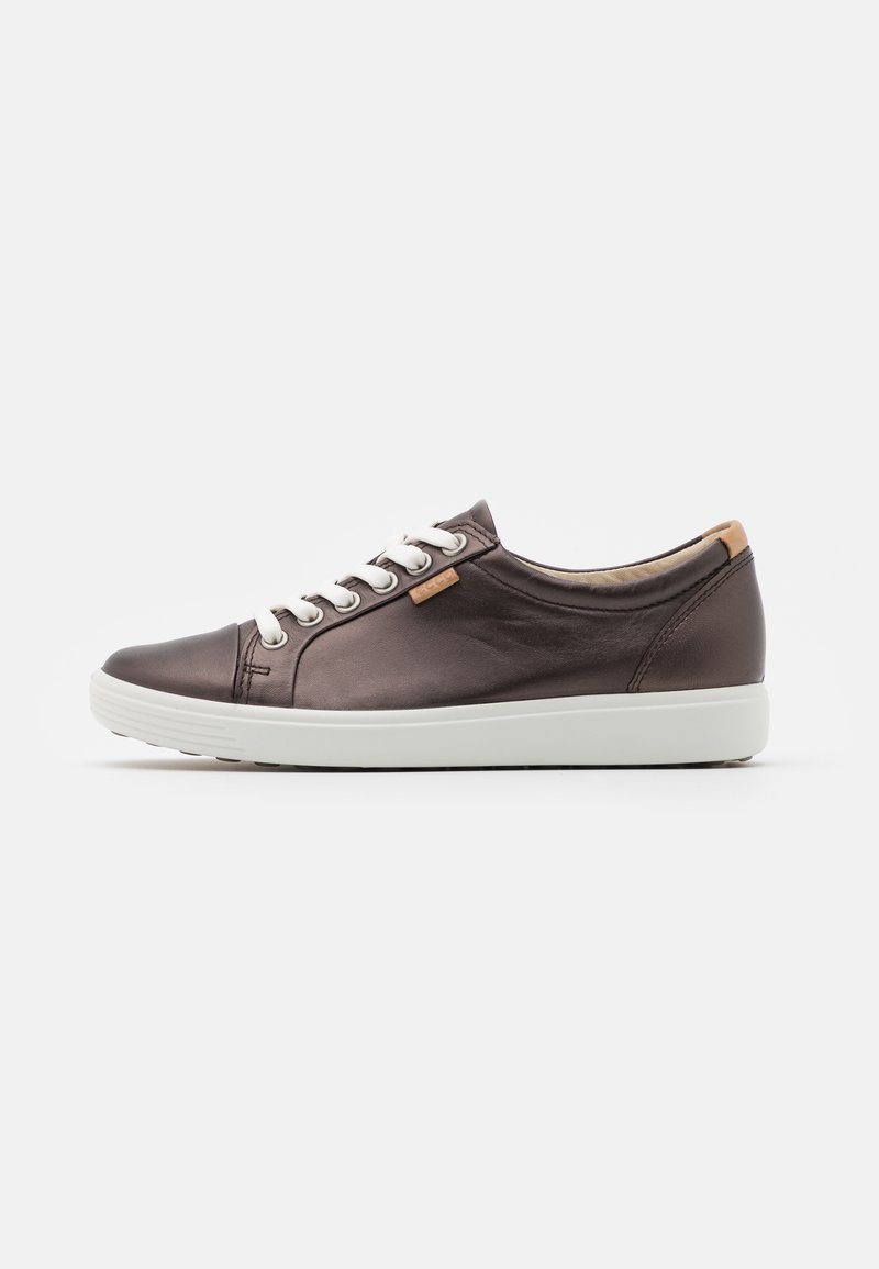 ECCO - SOFT - Sneakersy niskie - dark brown