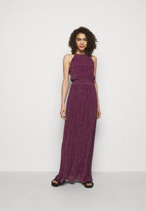 ABITO LUNGOSENZA MANICHE - Jersey dress - purple