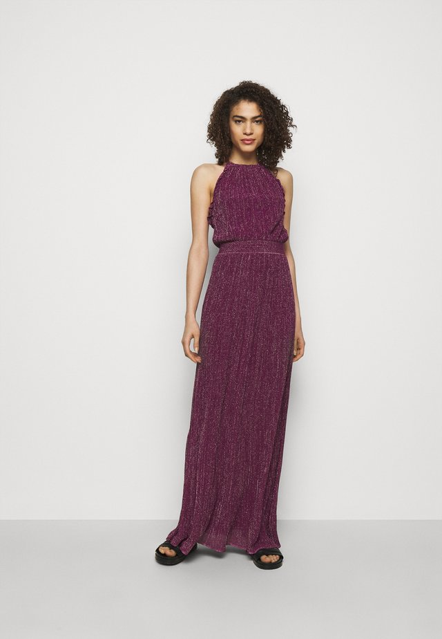ABITO LUNGOSENZA MANICHE - Jersey dress - purple