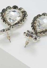sweet deluxe - PRINCESS - Oorbellen - silver-coloured/diam/cryst - 2