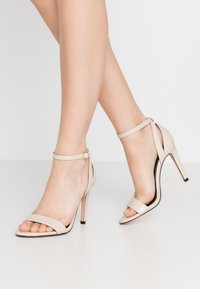 ONLY SHOES - High heeled sandals - beige - 0