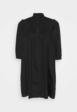 YASROBBIA DRESS - Košilové šaty - black