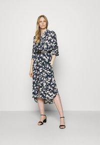 Esprit - Shirt dress - dark blue - 1