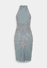 SISTA GLAM PETITE - GLOSSIE  - Cocktail dress / Party dress - grey/blue - 1