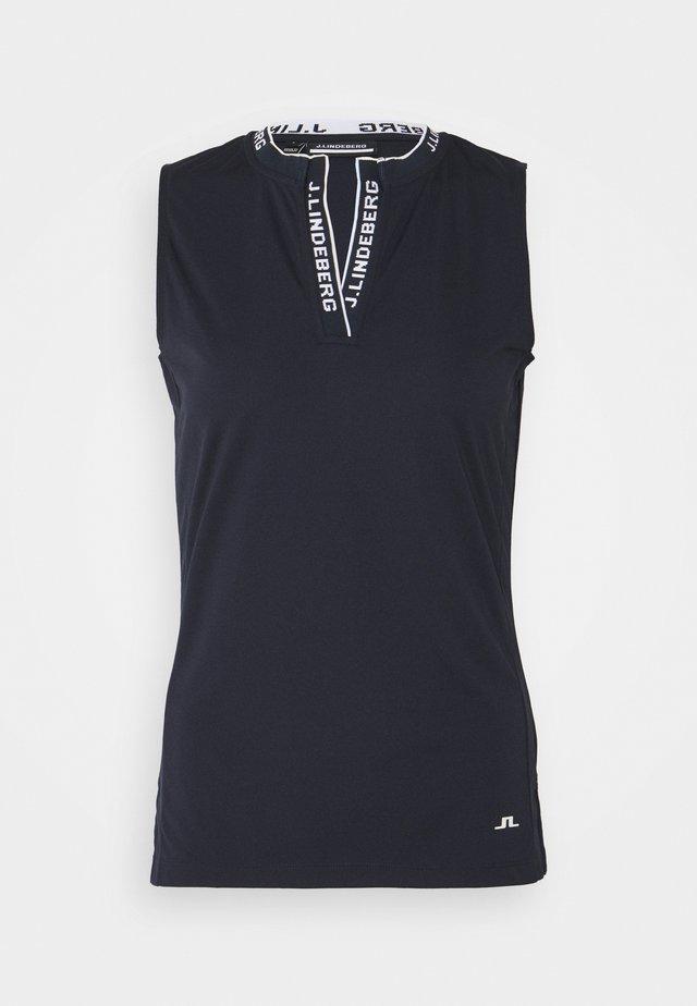 LEYA SLEEVELESS GOLF - Sports shirt - navy