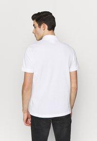 Lacoste - PH5101-00 - Polo shirt - white/navy blue/niagara blue - 2