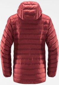 Haglöfs - SÄRNA MIMIC HOOD - Winter jacket - brick red - 6