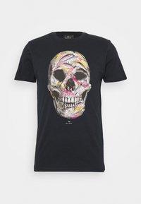 PS Paul Smith - MENS SLIM FIT SKULL - T-shirts print - dark blue - 4