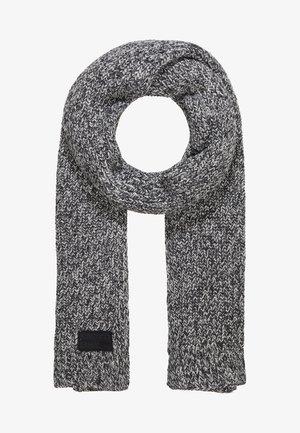 STOCKHOLM SCARF - Sjaal - black grit