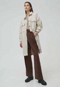 PULL&BEAR - Classic coat - beige - 1