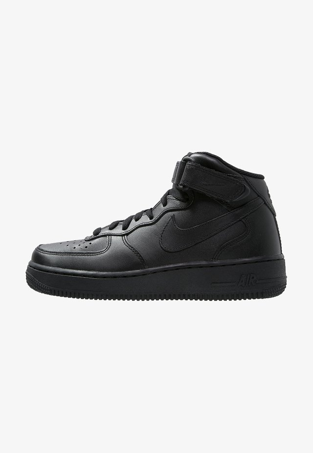 AIR FORCE 1 MID '07 - Korkeavartiset tennarit - black